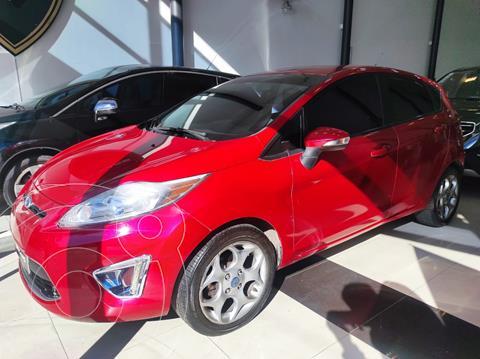 Ford Fiesta  5P Titanium Kinetic Design usado (2011) color Rojo Granate precio $1.030.000