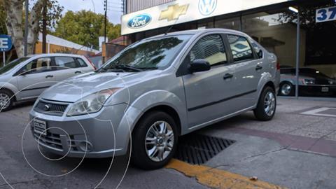 Ford Fiesta  4P Max Ambiente (LN) usado (2008) color Gris Plata  precio $649.000