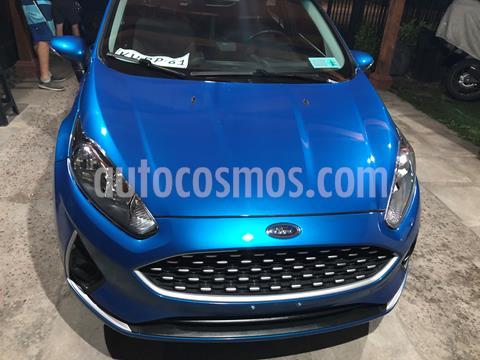 Ford Fiesta 1.6L SE  usado (2018) color Azul Mediterraneo precio $8.000.000