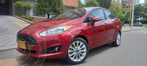 Ford Fiesta Titanium  usado (2017) color Rojo Rubi precio $47.700.000