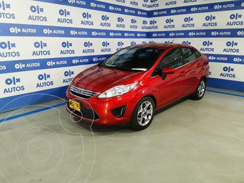 Ford Fiesta SE 5P  usado (2012) color Rojo financiado en cuotas(anticipo $4.000.000)