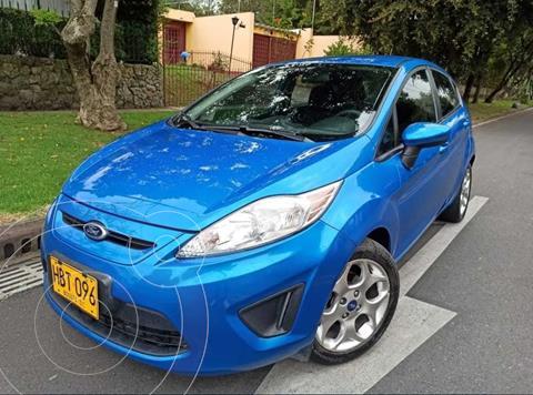 Ford Fiesta SE 5P  usado (2013) color Azul precio $29.500.000