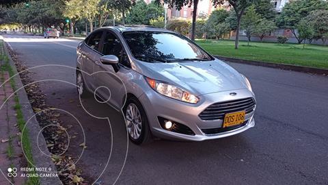 Ford Fiesta Titanium  usado (2017) color Plata Puro precio $42.800.000