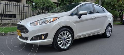 Ford Fiesta Titanium  usado (2017) color Blanco precio $47.900.000