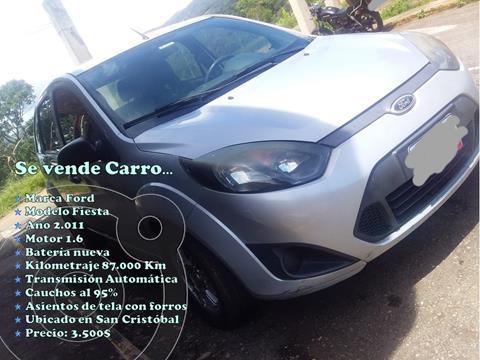 Ford Fiesta 1.6L Aut usado (2011) color Plata Metalico precio u$s3.500