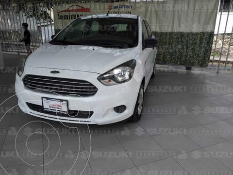 Ford Figo Hatchback Impulse A/A usado (2016) color Blanco Oxford precio $135,000