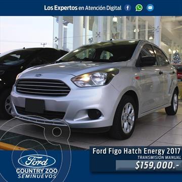 Ford Figo Hatchback Energy usado (2017) color Plata precio $159,000