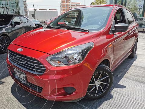 Ford Figo Hatchback Impulse A/A usado (2017) color Rojo Rubi precio $165,000