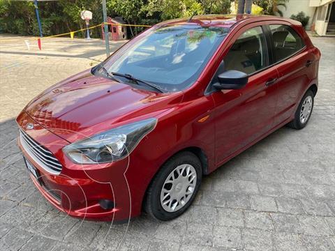 Ford Figo Hatchback Impulse Aut A/A usado (2017) color Rojo precio $179,000