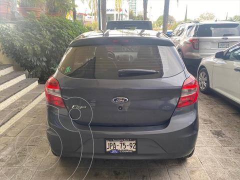 Ford Figo Hatchback IMPULSE TM A/A 5 PUERTAS usado (2017) color Gris Oscuro precio $149,000