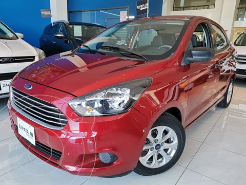 Ford Figo Hatchback Energy Aut usado (2017) color Rojo Rubi precio $184,000