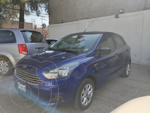 Ford Figo Hatchback Energy usado (2018) color Azul precio $153,000