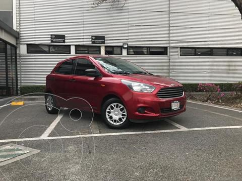 Ford Figo Hatchback Impulse A/A usado (2016) color Rojo precio $125,000