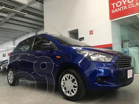 Ford Figo Hatchback Impulse A/A usado (2017) color Azul precio $140,000