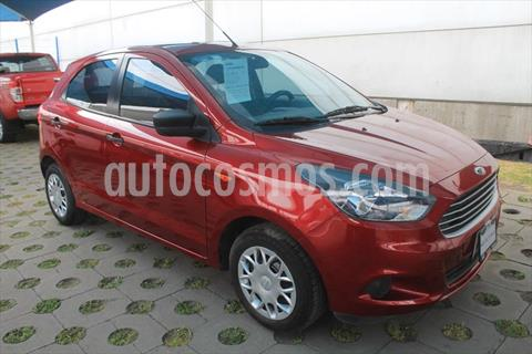 Ford Figo Hatchback IMPULSE TM A/A 5 PUERTAS usado (2017) color Rojo precio $140,000