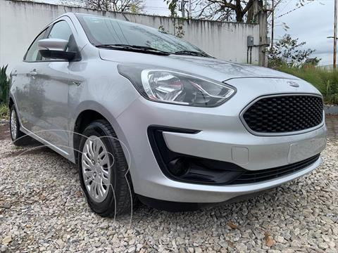 Ford Figo Sedan Impulse A/A usado (2019) color Plata precio $154,999
