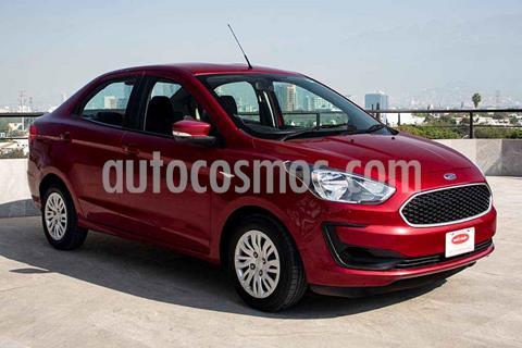 Ford Figo Sedan Impulse Aut A/A usado (2019) color Rojo precio $169,700