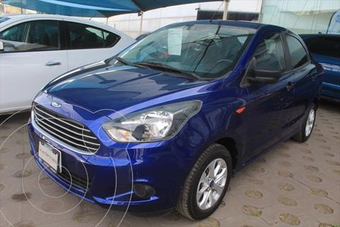 Ford Figo Sedan Energy usado (2018) color Azul Electrico precio $158,000