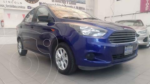 Ford Figo Sedan Energy Aut usado (2017) color Azul precio $145,000