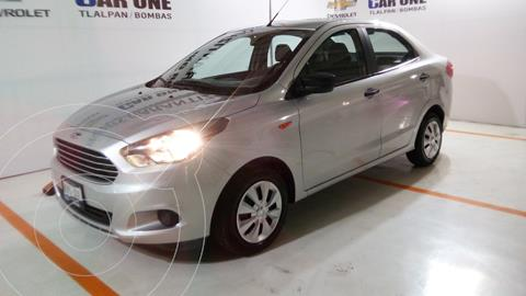 Ford Figo Sedan Impulse  usado (2018) color Plata financiado en mensualidades(enganche $35,750 mensualidades desde $2,760)