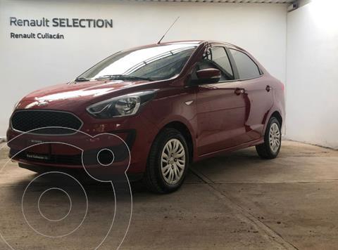 Ford Figo Sedan IMPULSE TM usado (2020) color Rojo precio $200,000