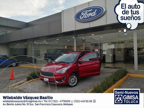 Ford Figo Sedan Titanium usado (2020) color Rojo precio $270,000
