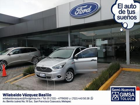 Ford Figo Sedan IMPULSE L4/1.5 MAN usado (2016) color Plata precio $140,000