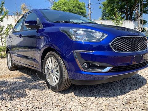 Ford Figo Sedan Titanium usado (2021) color Azul Electrico precio $284,999