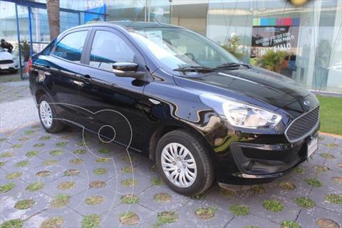 Ford Figo Sedan IMPULSE TM A/A 4 PTAS 1.5L usado (2020) color Negro precio $215,000