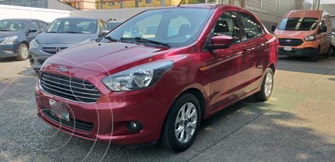 Ford Figo Sedan Titanium usado (2017) color Rojo precio $151,000