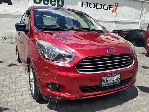 Ford Figo Sedan Energy usado (2018) color Rojo precio $199,000