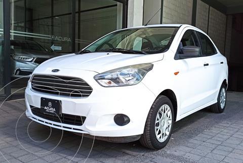 Ford Figo Sedan Impulse  usado (2018) color Blanco precio $156,000