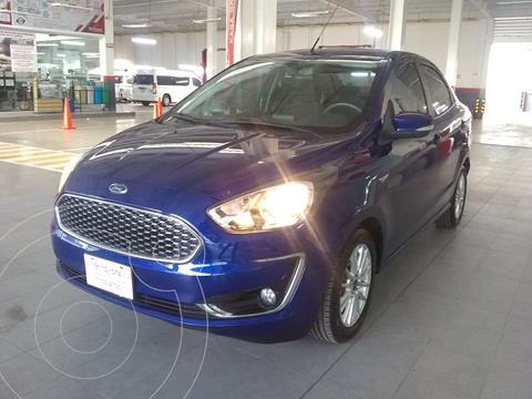 Ford Figo Sedan Titanium usado (2019) color Azul precio $210,000