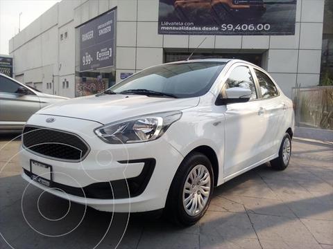 Ford Figo Sedan IMPULSE Mt A/A usado (2019) color Blanco precio $189,000