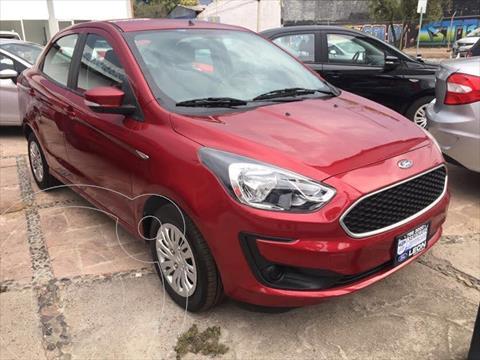 Ford Figo Sedan Impulse A/A usado (2019) color Rojo precio $189,000