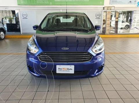 Ford Figo Sedan Titanium Aut usado (2016) color Azul precio $154,900