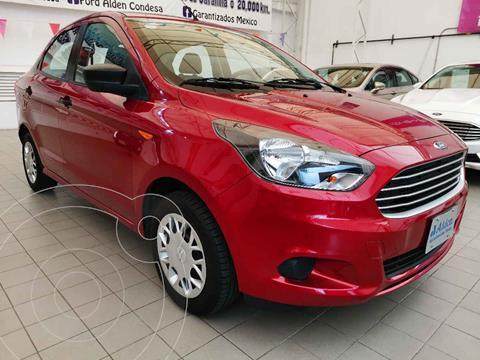 Ford Figo Sedan Version usado (2016) color Rojo precio $141,500