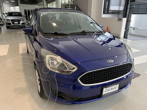 Ford Figo Sedan Impulse usado (2019) color Azul precio $179,000