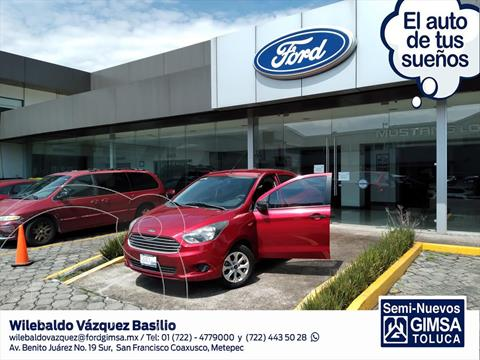 Ford Figo Sedan Energy usado (2018) color Rojo precio $143,000