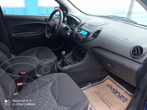 Ford Figo Sedan Impulse usado (2019) color Azul precio $180,000