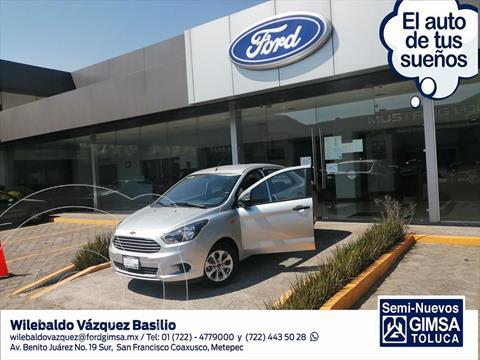 Ford Figo Sedan Energy usado (2017) color Plata precio $155,000