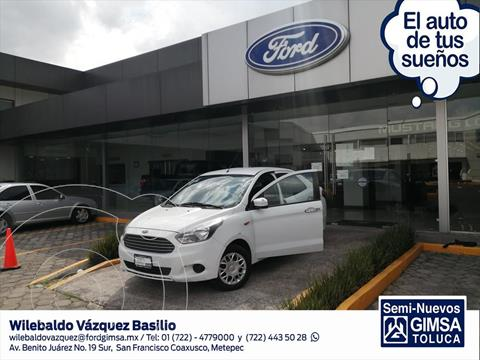 Ford Figo Sedan Impulse  usado (2017) color Blanco precio $123,000