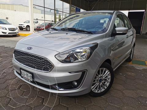 Ford Figo Sedan Titanium usado (2019) color Plata Estelar precio $195,000