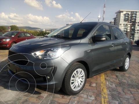 Ford Figo Sedan IMPULSE TM A/A 4 PTAS 1.5L usado (2020) color Gris Oscuro precio $223,000