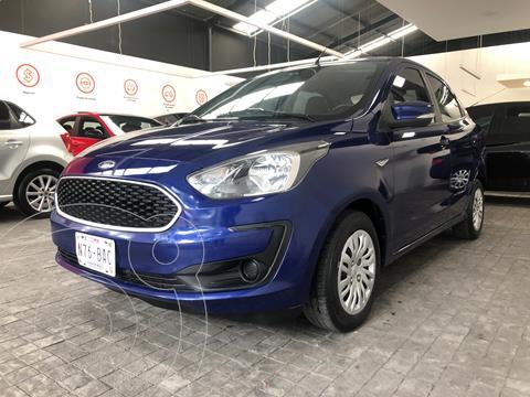 Ford Figo Sedan Impulse usado (2019) color Azul financiado en mensualidades(enganche $37,000 mensualidades desde $4,136)