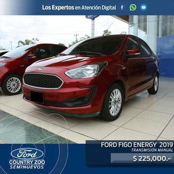 Ford Figo Sedan Energy usado (2019) color Rojo precio $225,000