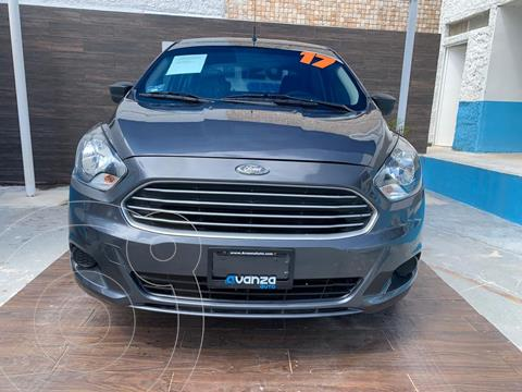 Ford Figo Sedan Impulse  usado (2017) color Gris Oscuro precio $129,900