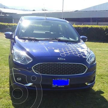 Ford Figo Sedan Titanium Aut usado (2020) color Azul precio $278,000