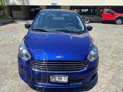 Ford Figo Sedan Impulse Aut A/A usado (2018) color Azul Electrico precio $179,000