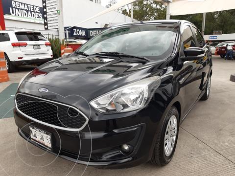 Ford Figo Sedan Impulse A/A usado (2019) color Negro financiado en mensualidades(enganche $37,938 mensualidades desde $3,816)